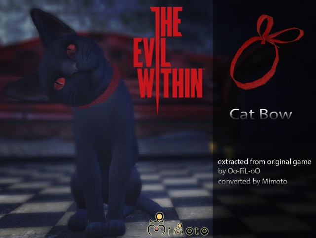 The Evil Within - Cat Bow by Mimoto