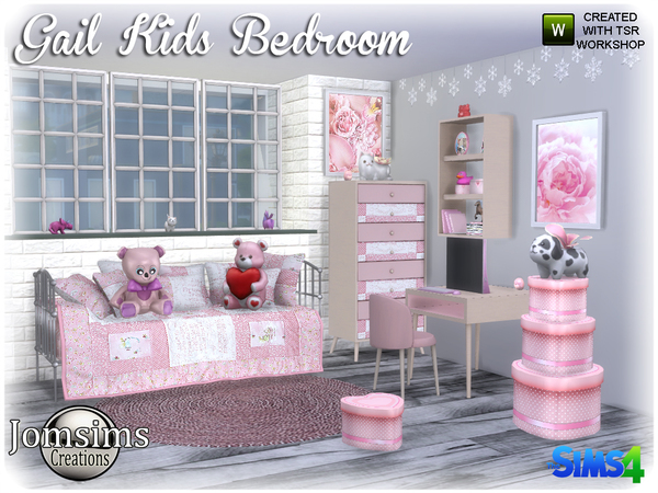 Gail Kids bedroom by jomsims
