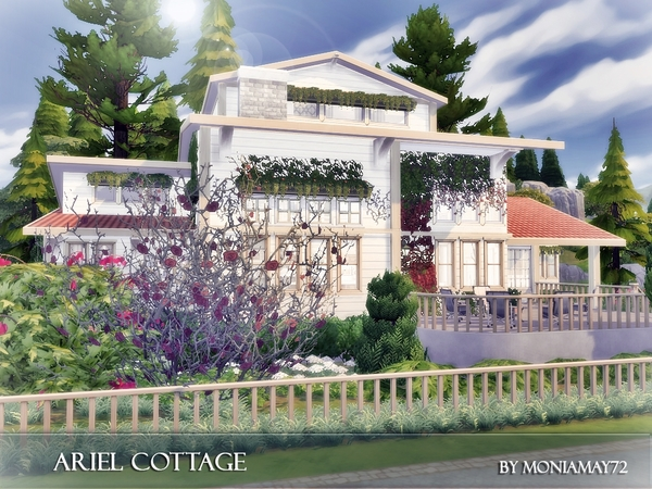 Ariel Cottage by Moniamay72