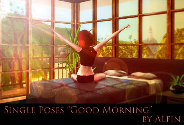 "Single Poses ""Good Morning"" by Alfin"