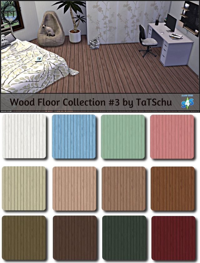 Wood Floor Collection #3 by TaTschu