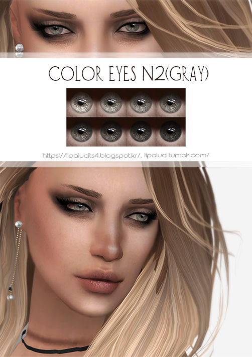 COLOR EYES N2 (GRAY) by lipaluci
