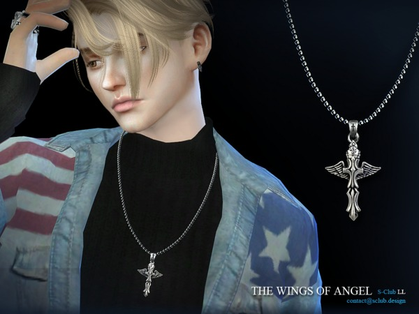 S-Club LL ts4 necklace M06