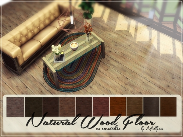 Natural Wood Floor by Melly20x