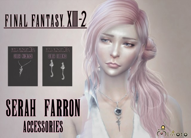 Final Fantasy XIII-2 - Serah Farron Accessories by Mimoto