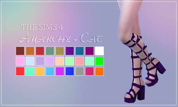 Madlen Coronella Shoes by Anarchy-Cat