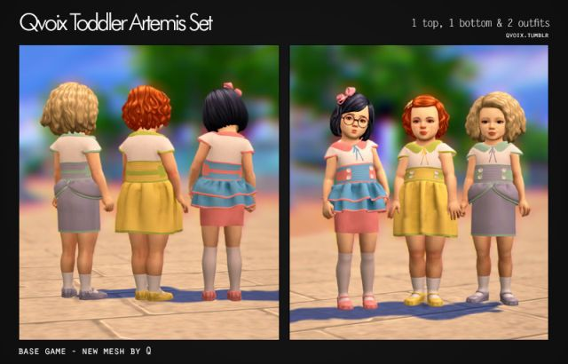 Toddler Artemis Set by Qvoix