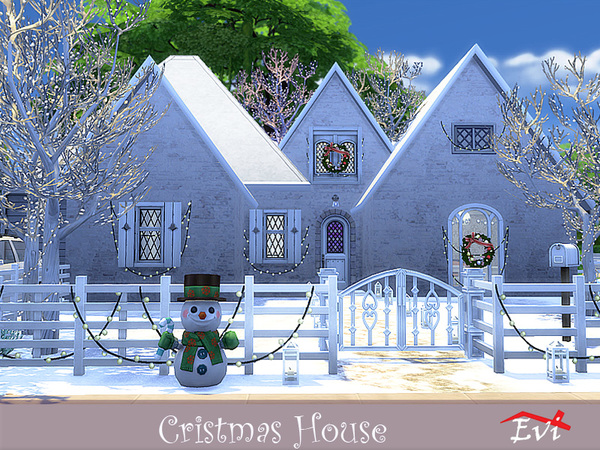 Christmas house by evi