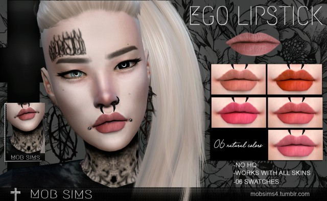 Ego Lipstick by Mobsims
