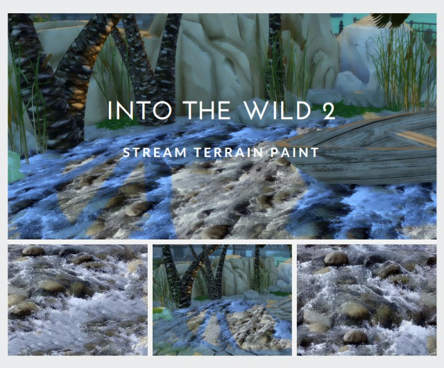 Into the wild 2: Creeks and stream terrain by Tilly-Tiger