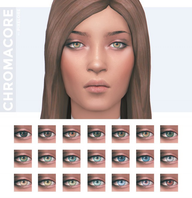 chromacore contacts by Pixelore