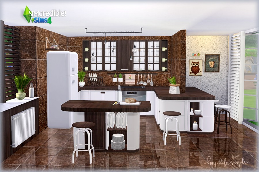 Keep Life Simple Kitchen by SIMcredible