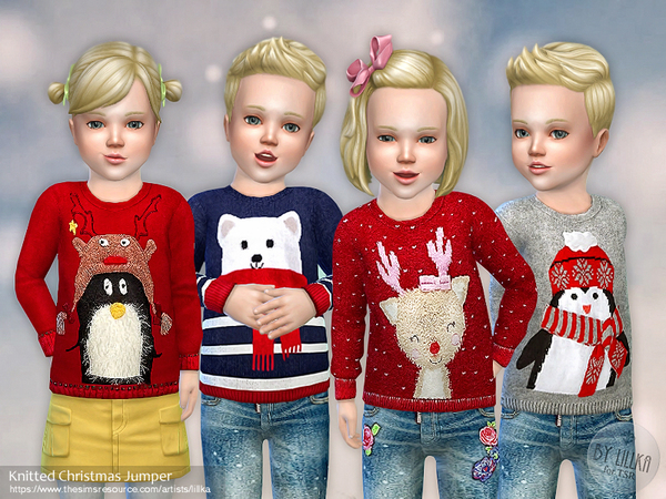 Knitted Christmas Jumper by lillka