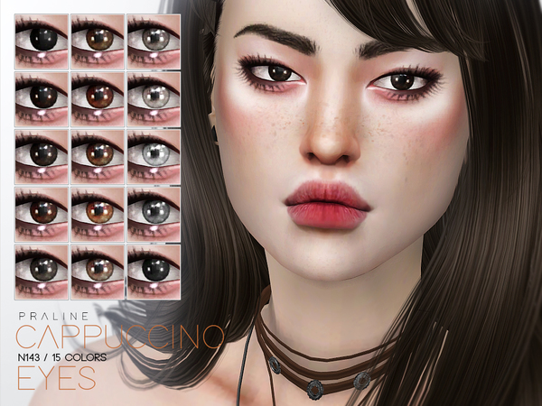 Cappuccino Eyes N143 by Pralinesims