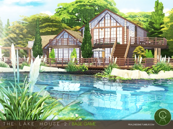 The Lake House 2 by Pralinesims