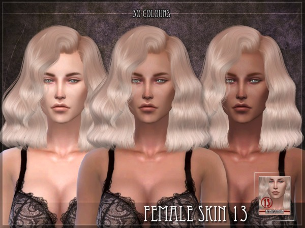 Female Skin 13 by RemusSirion