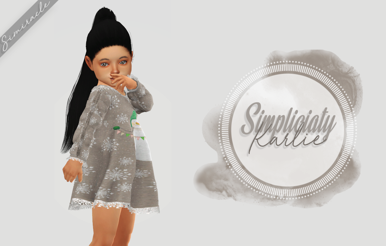 Simpliciatys Karlie dress  Toddler Version by Simiracle