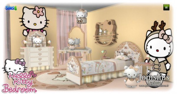 Hello kitty kidsroom by Jomsims