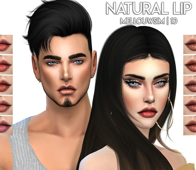 Natural Lip by MellouwSim