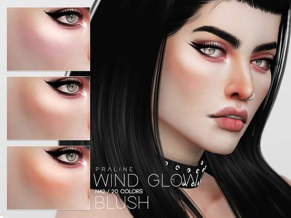 Wind Glow Blush N42 by Pralinesims