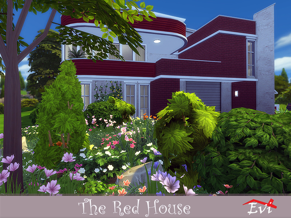 The Red House by evi