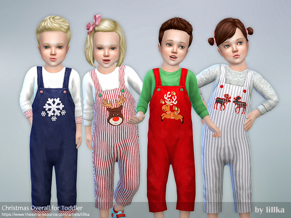 Christmas Overall for Toddler by lillka