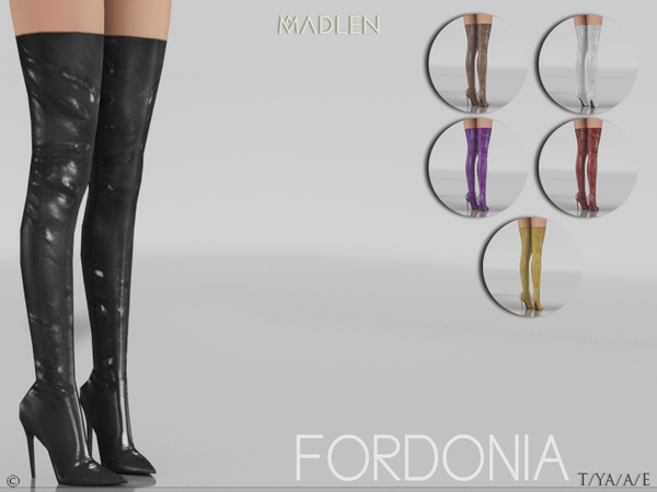 Madlen Fordonia Boots by MJ95