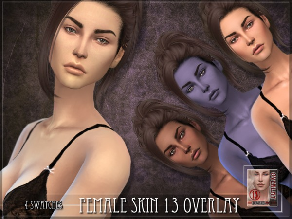 Female skin 13 - OVERLAY by RemusSirion