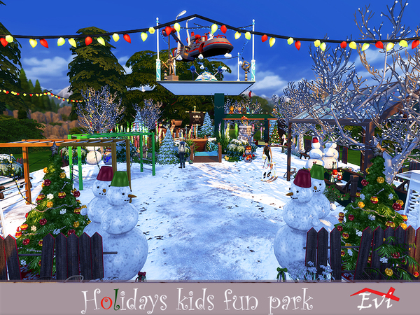 Holidays kids fun park by evi