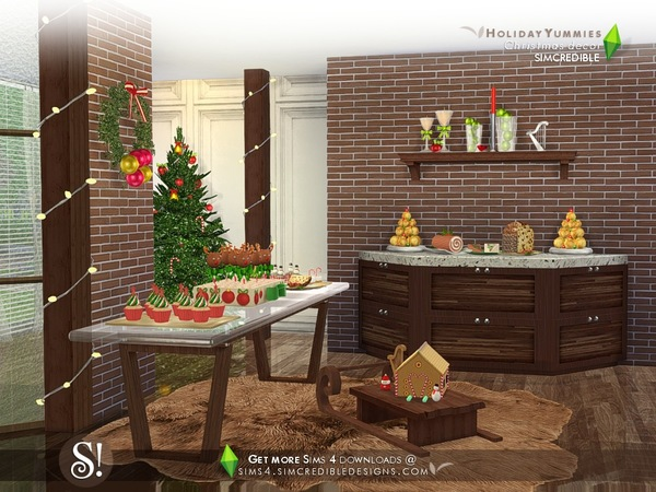 Holiday Yummies *decor only* by SIMcredible
