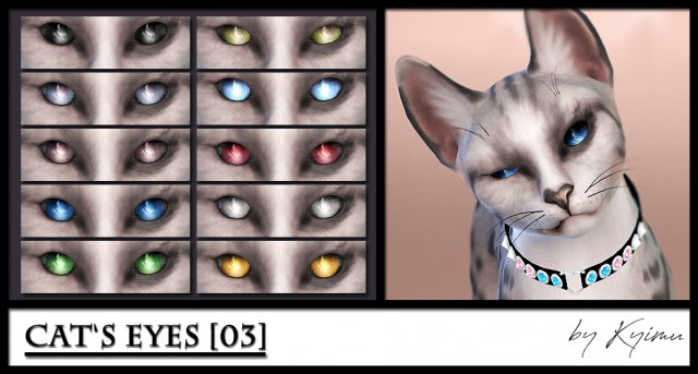 Cats eyes 03 by Kyimu