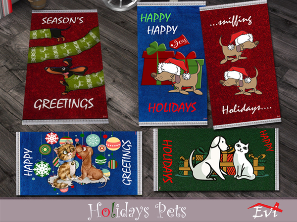Holidays pets by evi