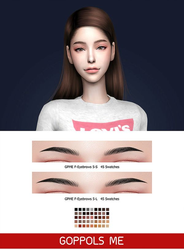 GPME F-Eyebrows 5 - S/L by GoppolsMe