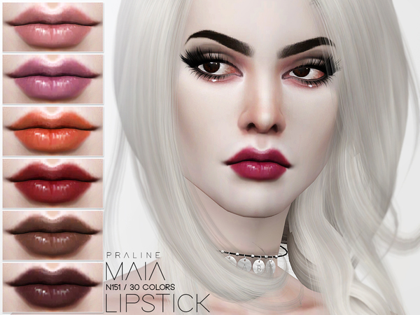 Maia Lipstick N151 by Pralinesims