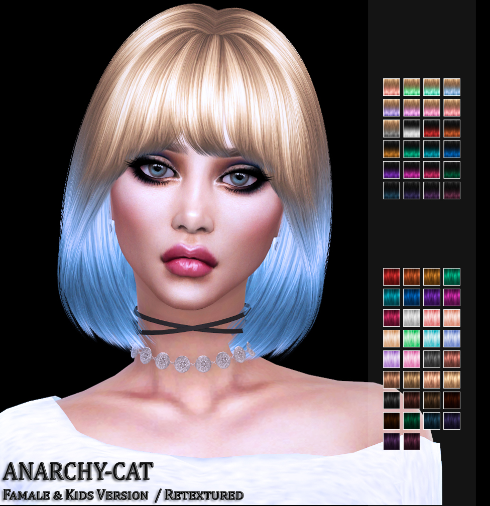 Nightcrawler AF Hair27 by Anarchy-Cat