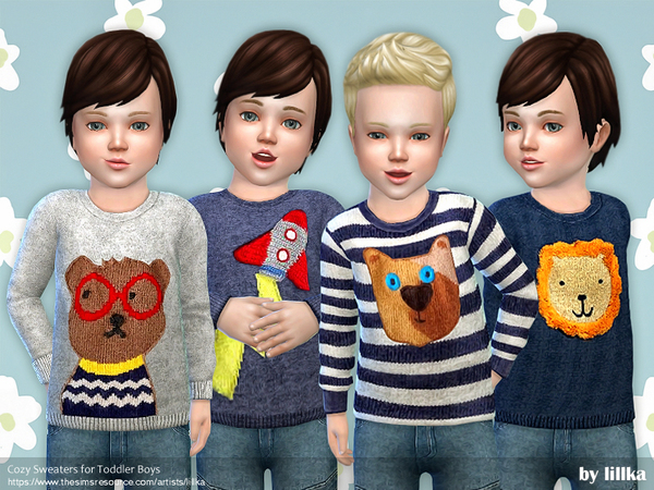 Cozy Sweaters for Toddler Boys by lillka