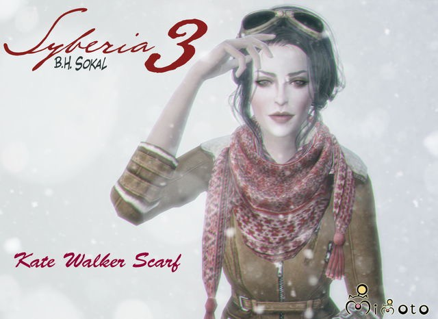 Syberia 3 - Kate Walker Scarf by Mimoto