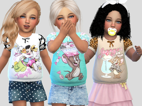 Toddler T-shirts Collection 034 by Pinkzombiecupcakes