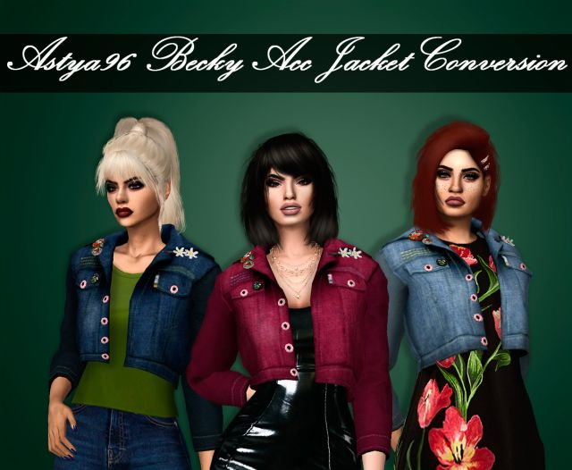 Becky Acc Jacket Conversion by Astya96