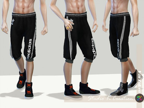 Giruto 41 Jogger Sport Shorts Pant by Studio K Creation