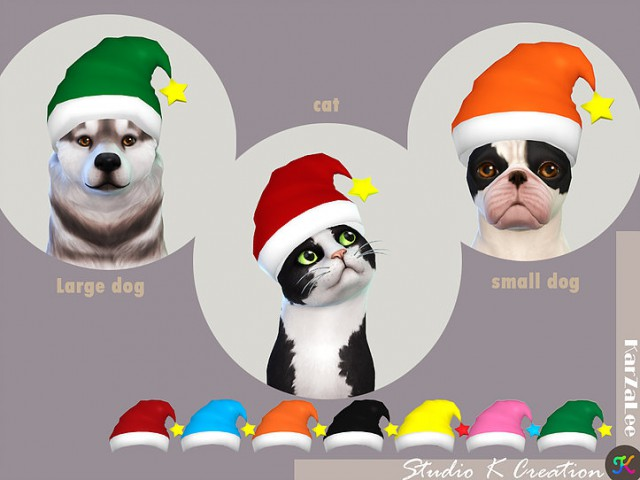 Christmas hat for pet  by Studio K Creation