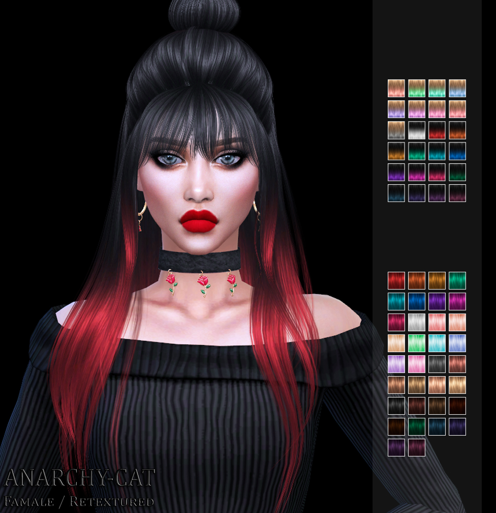LeahLillith DustyCloud Hair by Anarchy-Cat
