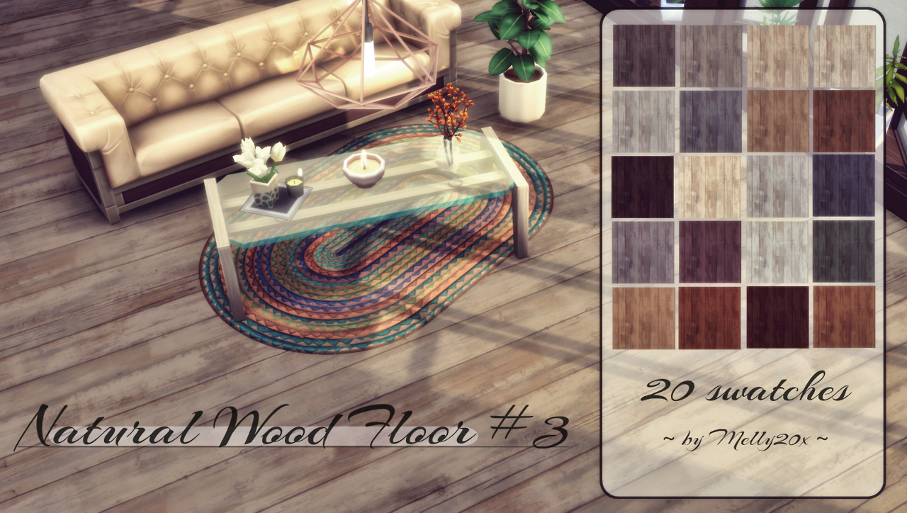 Natural Wood Floor #3 by Melly20x