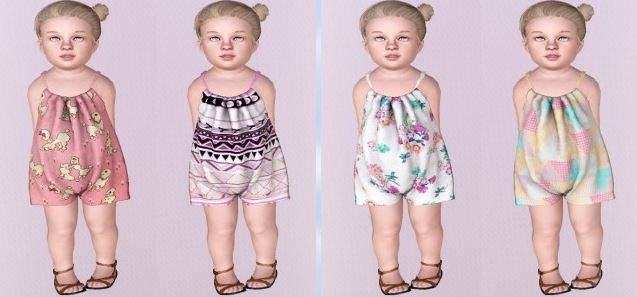 Rompers (Toddler) by Descargassims
