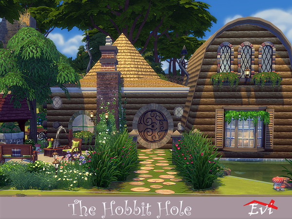 The Hobbit Hole by evi