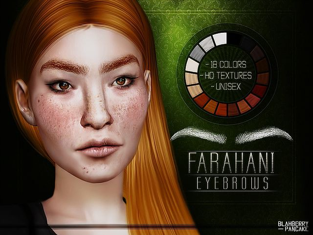 Farahani Eyebrows by Blahberry Pancake