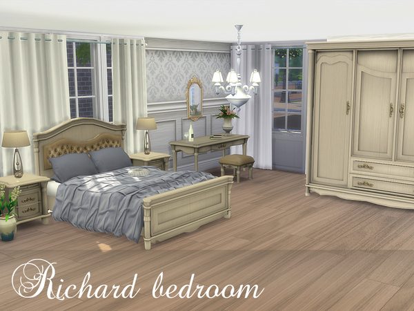 Richard bedroom by spacesims