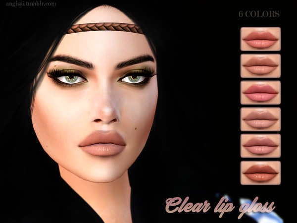 Clear lip gloss by ANGISSI