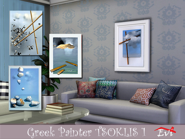 The Greek painter Tsoklis K 1 by evi