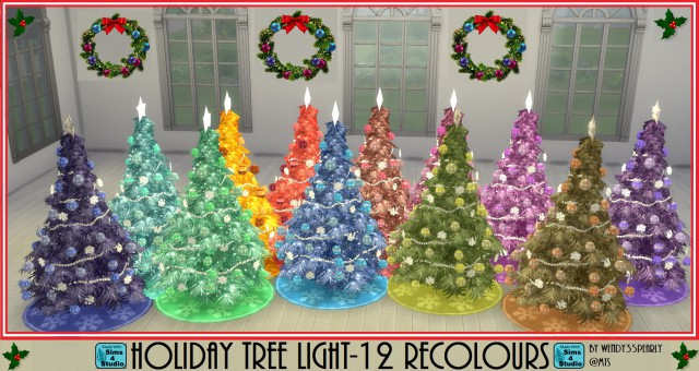 Holiday Tree-12 Recolours by wendy35pearly